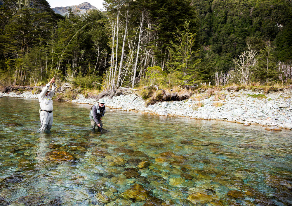 Gallery of fly fishing southern trout queenstown new for Fly fishing news