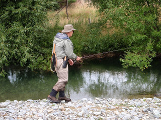 Fly Fishing in the rivers of Otago